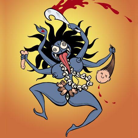 KaliColorSmall - Une méditation sur Kali
