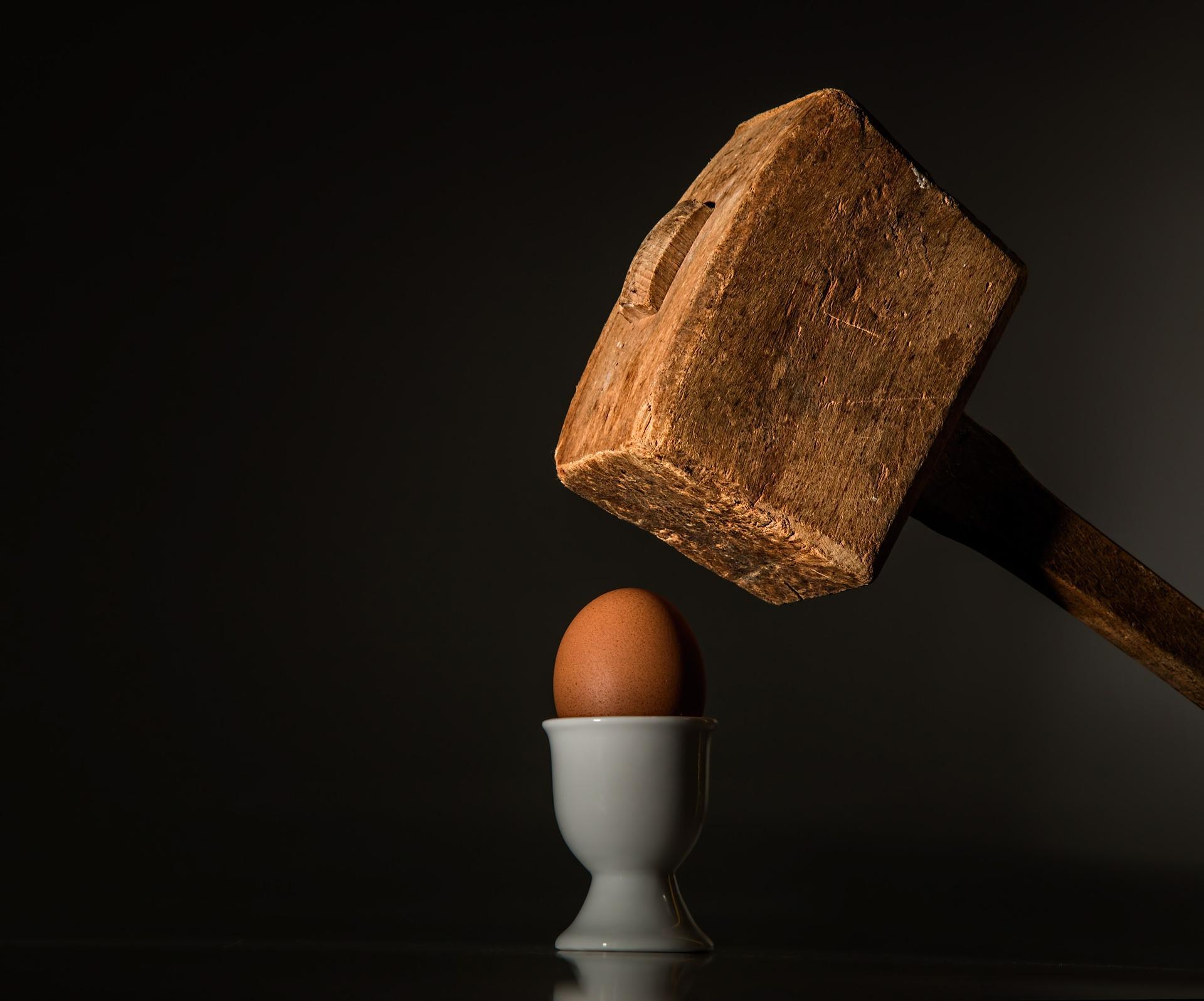Trophée du Chaos, un exercice de l'œuf