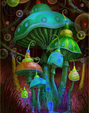 magicmushrooms02 - Les Champignons & l'Evolution [2eme partie]