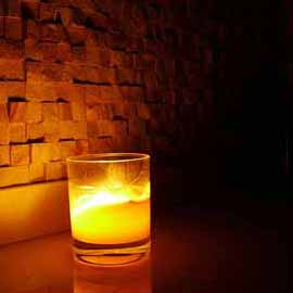 Mosaic Candle - Consécration du Temple Noir