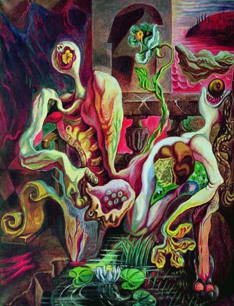 Les oeuvres picturales que vous aimez - Page 3 Andre_Masson01