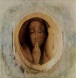 odilon redon le silence 293x300 - Silence