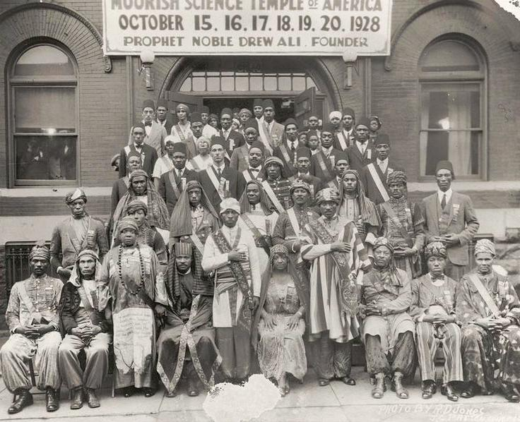 743px Moorish Science Temple 1928 Convention - L'Église Maure Orthodoxe