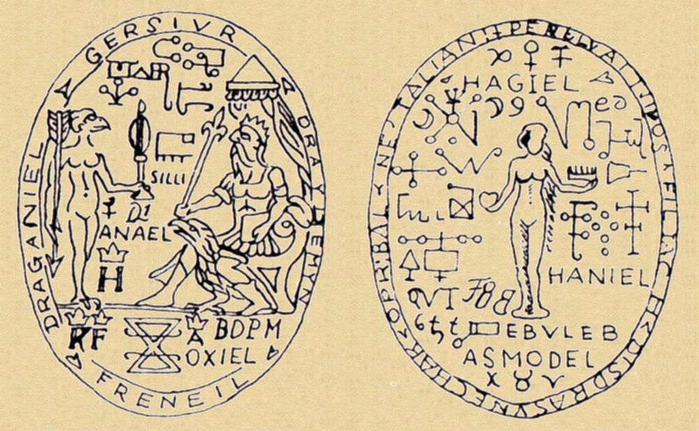 4 talisman catherine - Talismans & Sigils