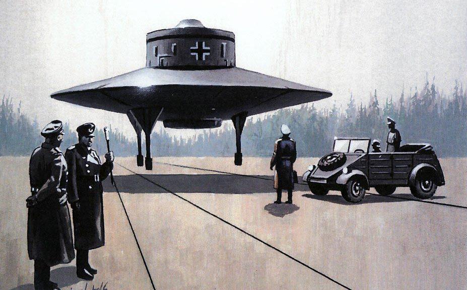 Les soucoupes volantes nazies | KAosphOruS WebZine Chaote