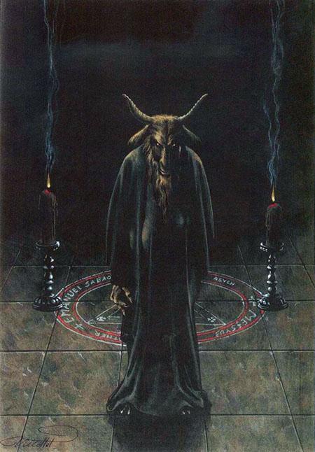 Les vierges de Satan Jean Michel Nicollet - Oh my goat !