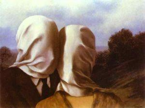 Magritte. The Lovers 300x222 - Amour fou