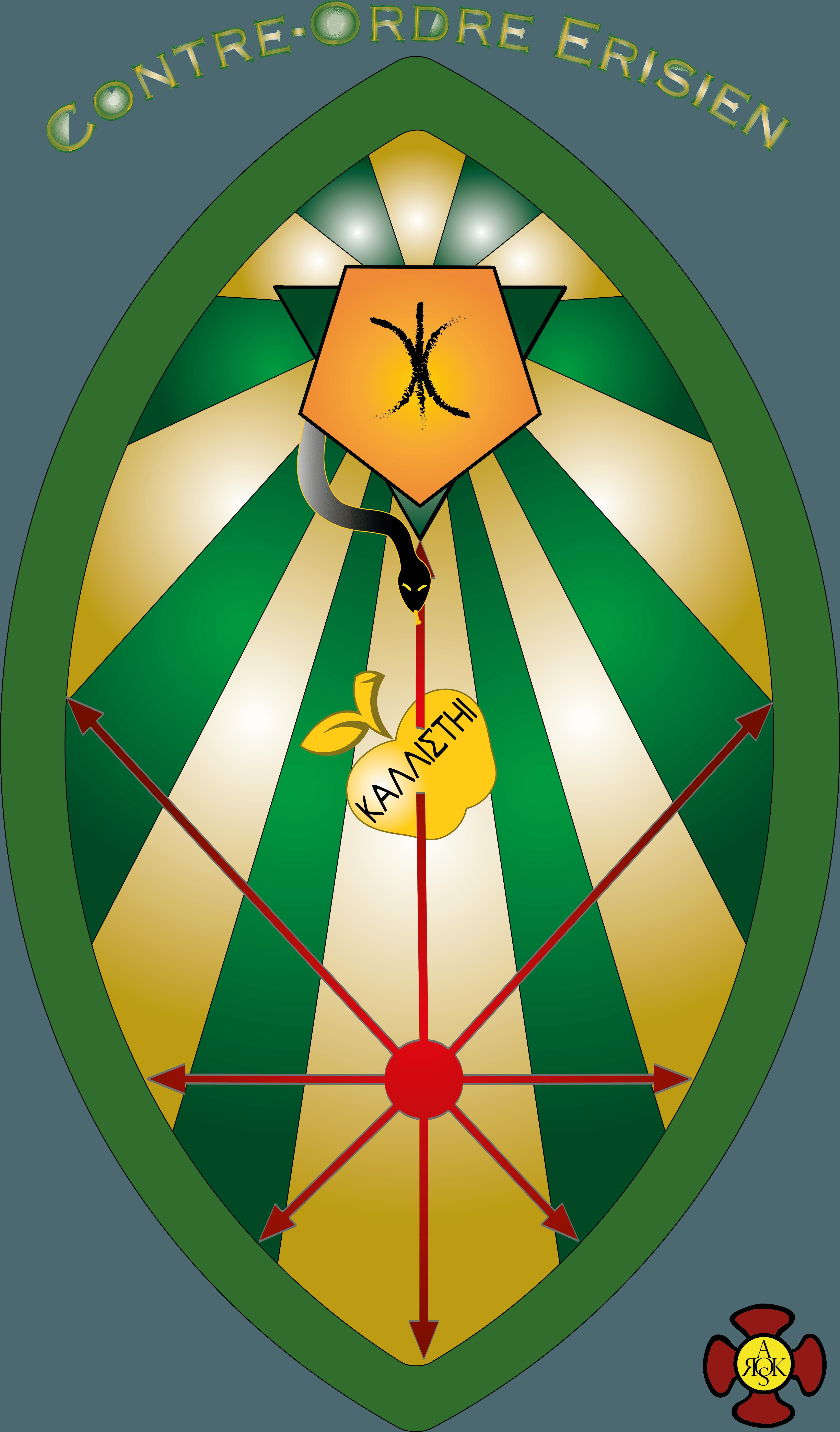 Mandorle eris - Lettre sur certains ordres secrets